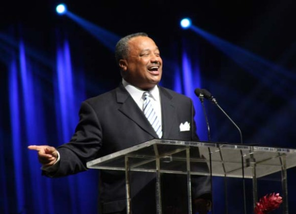 Newly elected SBC President Fred Luter