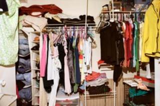 Not Meredith's closet