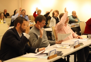 The IBSA Board of Directors votes to affirm sending an additional $31,392 for national Cooperative Program ministries.