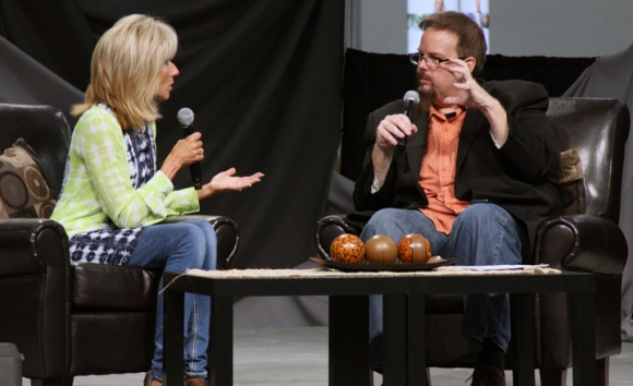 LifeWay's Ed Stetzer interviewed Bible study author and teacher Beth Moore about how she went from a substitute Sunday School teacher to a world-renowned speaker.