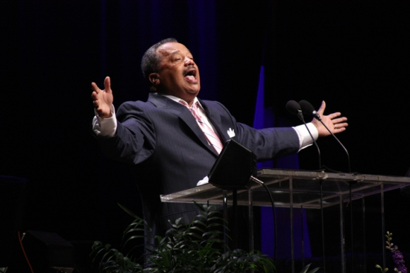 """We need to understand that we're in this together,"" Luter said in his president's address. ""It's not about your church and my church. It's not about your ministry and my ministry. If's not about your kingdom and my kingdom. It's about all of us as Southern Baptists working together."""