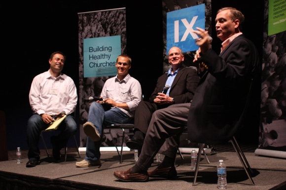 Al Mohler, president of Southern Seminary, explains the Conservative Resurgence of the 1970s and 80s to young leaders gathered for 9Marks at 9.
