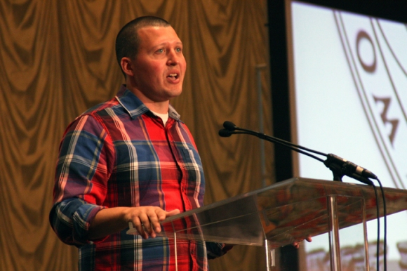 Scott Venable shares his story of planting a church in Chicago at the WMU Missions Celebration in Houston.