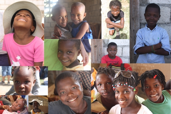 Some of the great faces we met in Haiti.