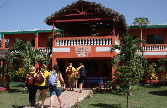 New Life Children's Home, our oasis and home away from home for the week.