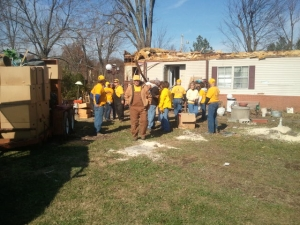 Disaster Relief volunteers served across the state after several tornadoes Nov. 17, including one in Brookport in southern Illinois.