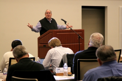 "CONVERSIONS COUNT – ""We have to help our churches focus on bearing fruit, and to keep up with that as a measure of how they're doing,"" NOBTS President Chuck Kelley told associational leaders in Illinois. ""Fruitlessness is becoming endemic in Southern Baptist Life."""