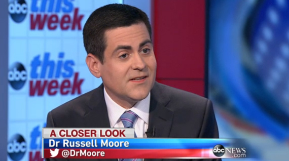 "Russell Moore was joined on ABC's ""The Week"" by fellow panelists Franklin Graham, Ralph Reed and Cokie Roberts."