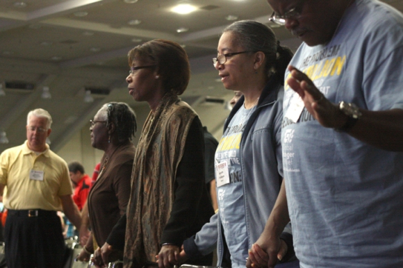 Members of Broadview Missionary Baptist Church joined fellow messengers in praying for personal and church revival, as well as denominational and national spiritual awakening.