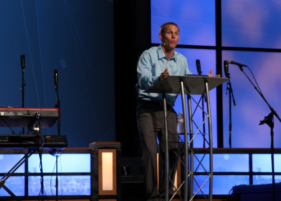 "David Platt gave his listeners at the Pastors' Conference 25 attributes of God from Pslam 68. ""Once you get a taste of the glory of God, you find yourself possessed by an insatiable passion for more and more and more,"" said the pastor of The Church at Brook Hills in Birmingham, Ala. ""You want God more than anything else."""