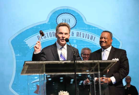 Luter passed the gavel to Floyd, who officially closed the Baltimore meeting. The 2015 Southern Baptist Convention Annual Meeting will be in Columbus, Ohio, June 16-17.