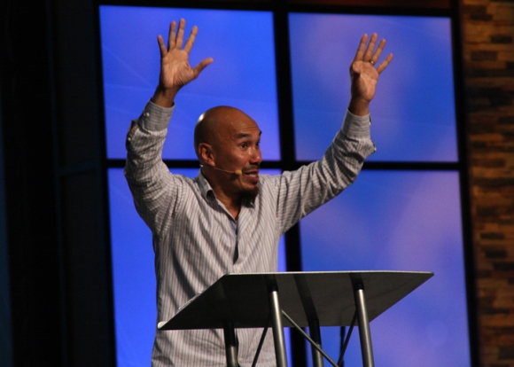"Francis Chan told the crowd he has sat in worship services before and thought, ""'There's more! There's something in me that's just dying to get out. I read what happened in the Word and I know that there's more, and I've got to pursue it."""