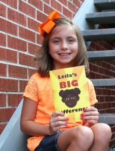 """Leila's Big Difference"" is 7-year-old Mackenzie Howell's latest project to help Haiti. Photo by Kristi Burden"