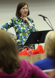 Sue Jones from Tabernacle Baptist Church in Decatur shared about living a life transformed by a reliance on God's Word.