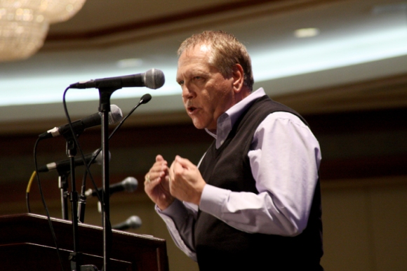 "Larry Thompson, pastor of First Baptist Church in Ft. Lauderdale, Fla., is preaching at the IBSA Pastors' Conference on the ""seismic"" spiritual shift described in Acts 10. Follow the Pastors' Conference at Facebook.com/IllinoisBaptist."