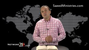 Image from a May 2012 YouTube video Saeed Abedini made before his imprisonment.