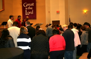 Chicago leaders convened a one-day prayer meeting and equipping conference in January at Lighthouse Fellowship Baptist Church in Frankfort.