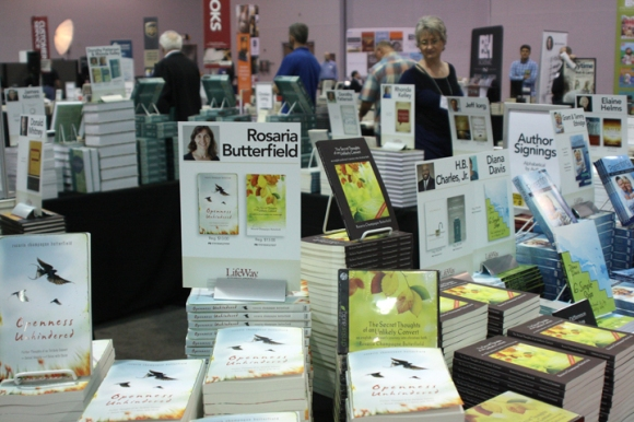 "Rosaria Butterfield, author of ""The Secret Thoughts of an Unlikely Convert: An English Professor's Journey into Christian Faith,"" is one of several authors who will sign their books at the LifeWay Store here in Columbus."