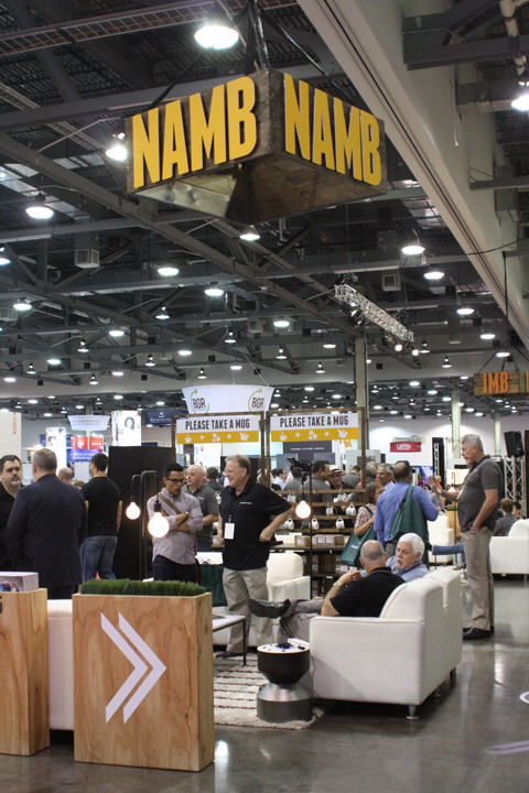 In the SBC exhibit hall, the North American and International Mission Boards have adjoining spaces--and complementary giveaways. NAMB has coffee mugs printed with the airport codes of each of its SEND focus cities. IMB has coffees and teas from countries and regions around the world where missionaries are serving.