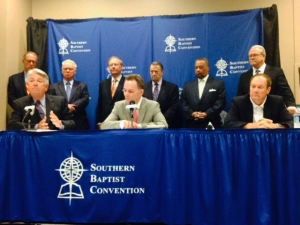 SBC Presidents' press conference