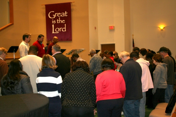 Chicago leaders convened a one-day prayer meeting and equipping conference in January at Lighthouse Fellowship Baptist Church in Franklin.