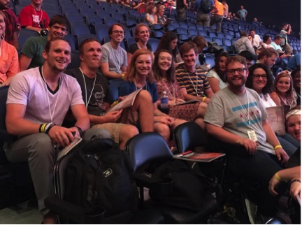 Chicago's Transplant crew was ready for the first session of SEND Conference 2015 to start.