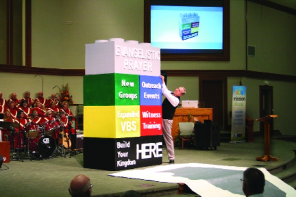 At the IBSA Annual Meeting, churches take up five gospel challenges for the coming year.