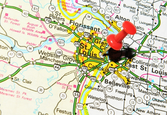 St. Louis map pin2