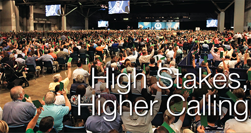 High stakes higher calling
