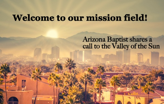 Welcome to our mission field
