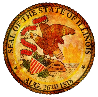 illinois coat of arms