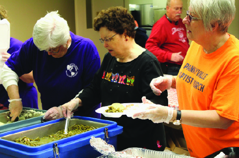 Food Pantry serving